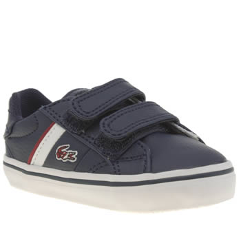 Lacoste Navy & Red Fairlead Boys Toddler