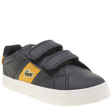 Lacoste Navy Fairlead Boys Toddler