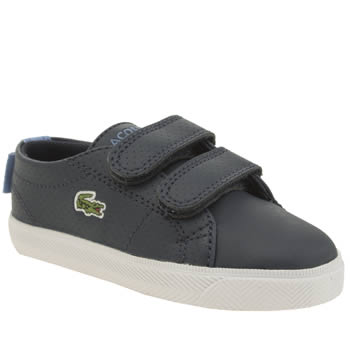 Lacoste Navy & White Marcel Boys Toddler