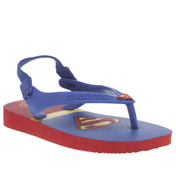 Havaianas Blue Baby Heroes Boys Toddler