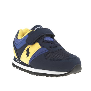 Polo Ralph Lauren Navy Slaton Boys Toddler