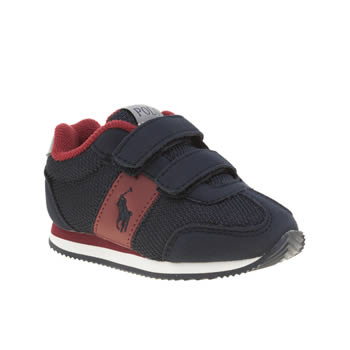 Polo Ralph Lauren Navy & Red Zuma Boys Toddler