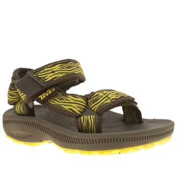 Teva Yellow Hurricane 2 Boys Toddler