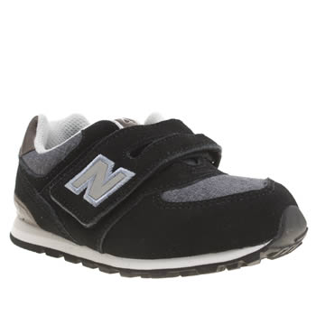 New Balance Black and blue 574 Boys Toddler