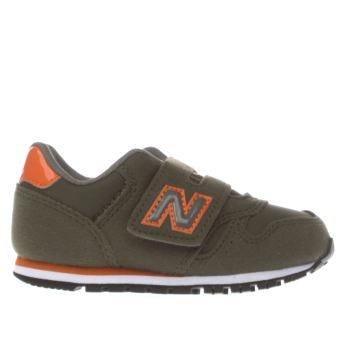 New Balance Dark Green 373 Autumn Leaves Boys Toddler