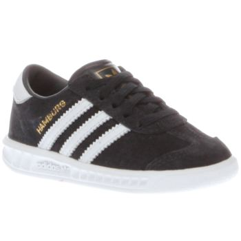 Boys Adidas Navy Adi Hamburg Boys Toddler