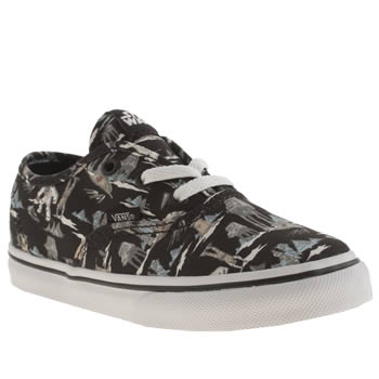 Vans Black & Grey Authentic Star Wars Boys Toddler