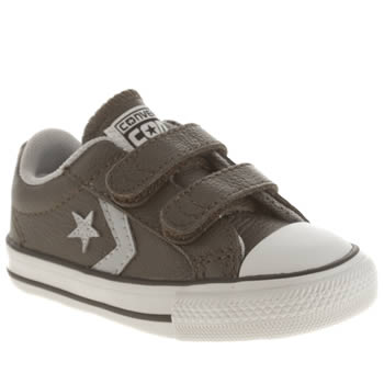 Converse Dark Green Star Player 2v Boys Toddler