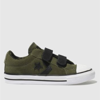 Converse Khaki Star Player 2V Ox Boys Toddler