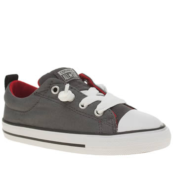 Converse Grey All Star Street Ox Boys Toddler