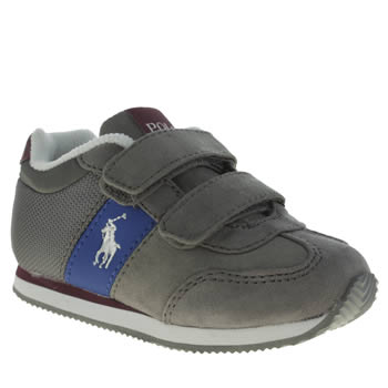 Polo Ralph Lauren Grey Duma Ez Boys Toddler