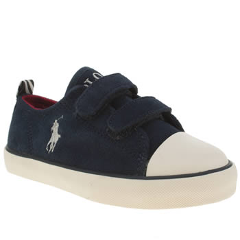 Polo Ralph Lauren Navy Falmuth Low Ez Boys Toddler