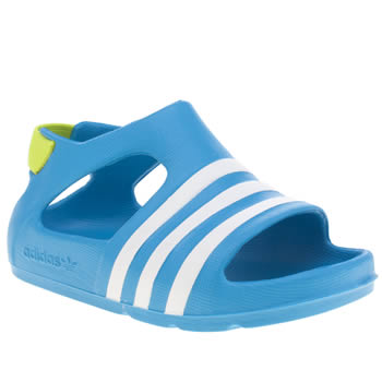 Adidas Blue Adilette Play Boys Toddler