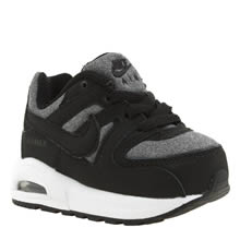 Nike Black & Grey Air Max Command Flex Boys Toddler