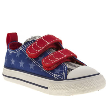 Boys Converse Blue All Star Oxford V2 Boys Toddler