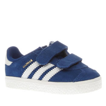 kids adidas blue gazelle 2 trainers