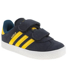 Toddler Navy Adidas Gazelle Ii