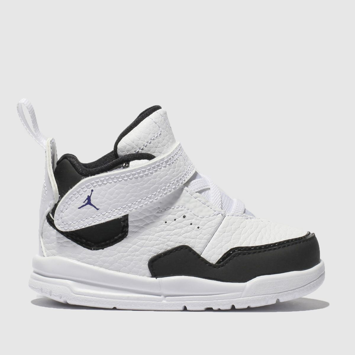 Nike Jordan White & Black Courtside 23 Trainers Toddler