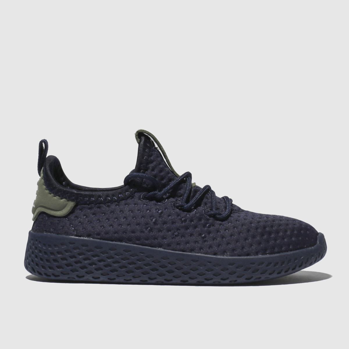 Adidas Navy Tennis Pharrell Hu Trainers Toddler