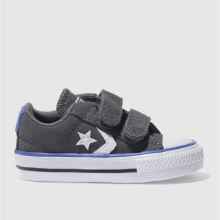 Converse Dark Grey Star Player 2v Boys Toddler