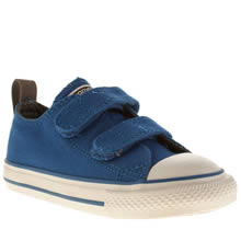 Toddler Blue Converse All Star Oxford