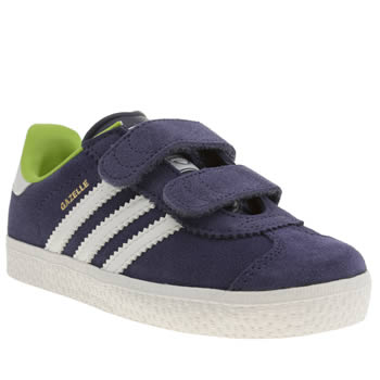 Adidas Navy Gazelle 2 Boys Toddler