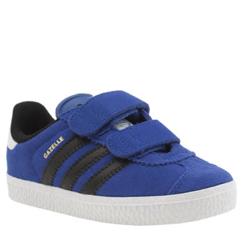 Boys Adidas Blue Gazelle 2 Boys Toddler