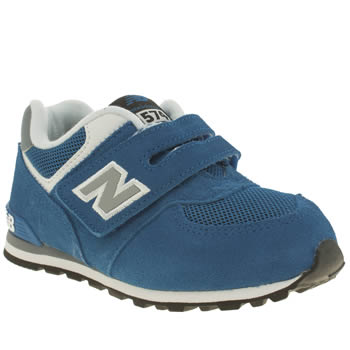 New Balance Blue 574 Boys Toddler