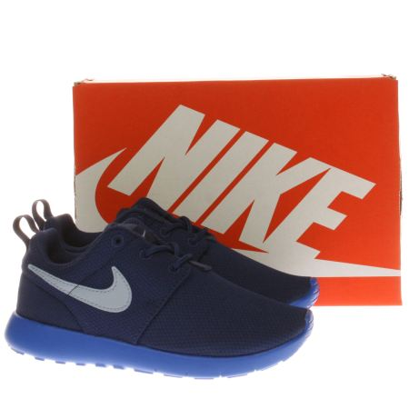 bajvx Boys Blue Nike Roshe One Junior Trainers | schuh