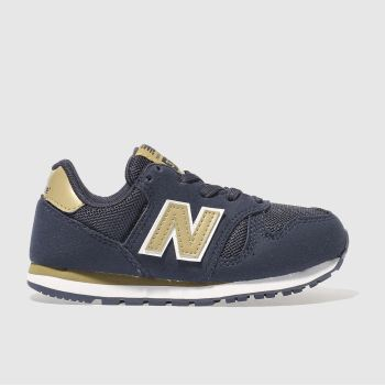 New Balance Navy 373 Boys Junior
