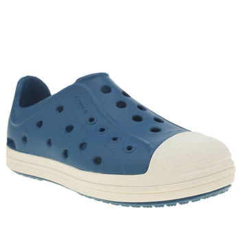CROCS BLUE BUMP IT BOYS JUNIOR SANDALS