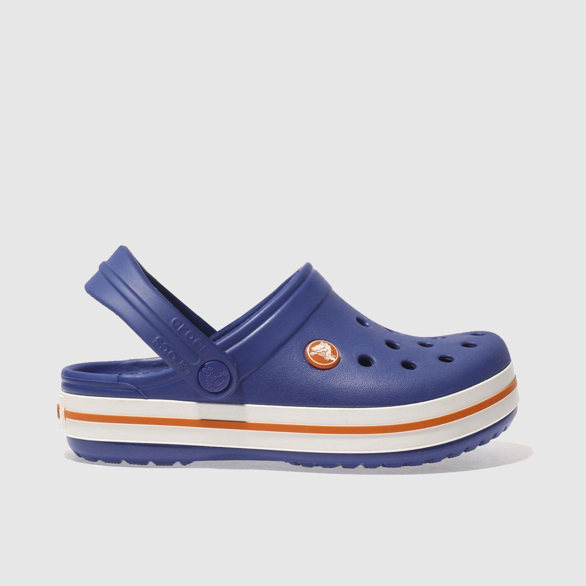 Crocs Crocs Blue Crocband Clog Boys Junior Sandals