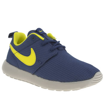 Boys Nike Blue Roshe Run Boys Junior