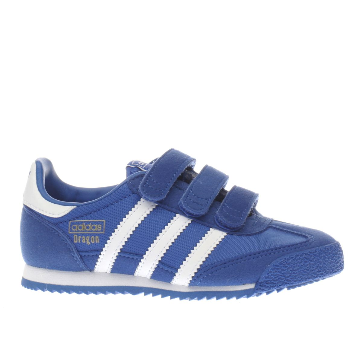 adidas blue dragon Boys Junior Trainers