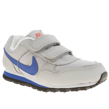 Boys Nike Light Grey Md Runner Boys Junior