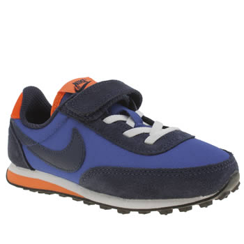 Boys Nike Navy & Orange Elite 1v Boys Junior