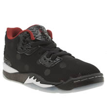 Nike Jordan Black & Red Jordan Spike Forty Boys Junior