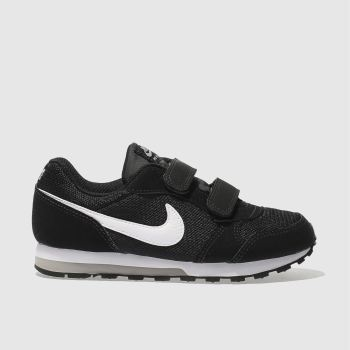 Nike Black & White MD RUNNER 2 Boys Junior