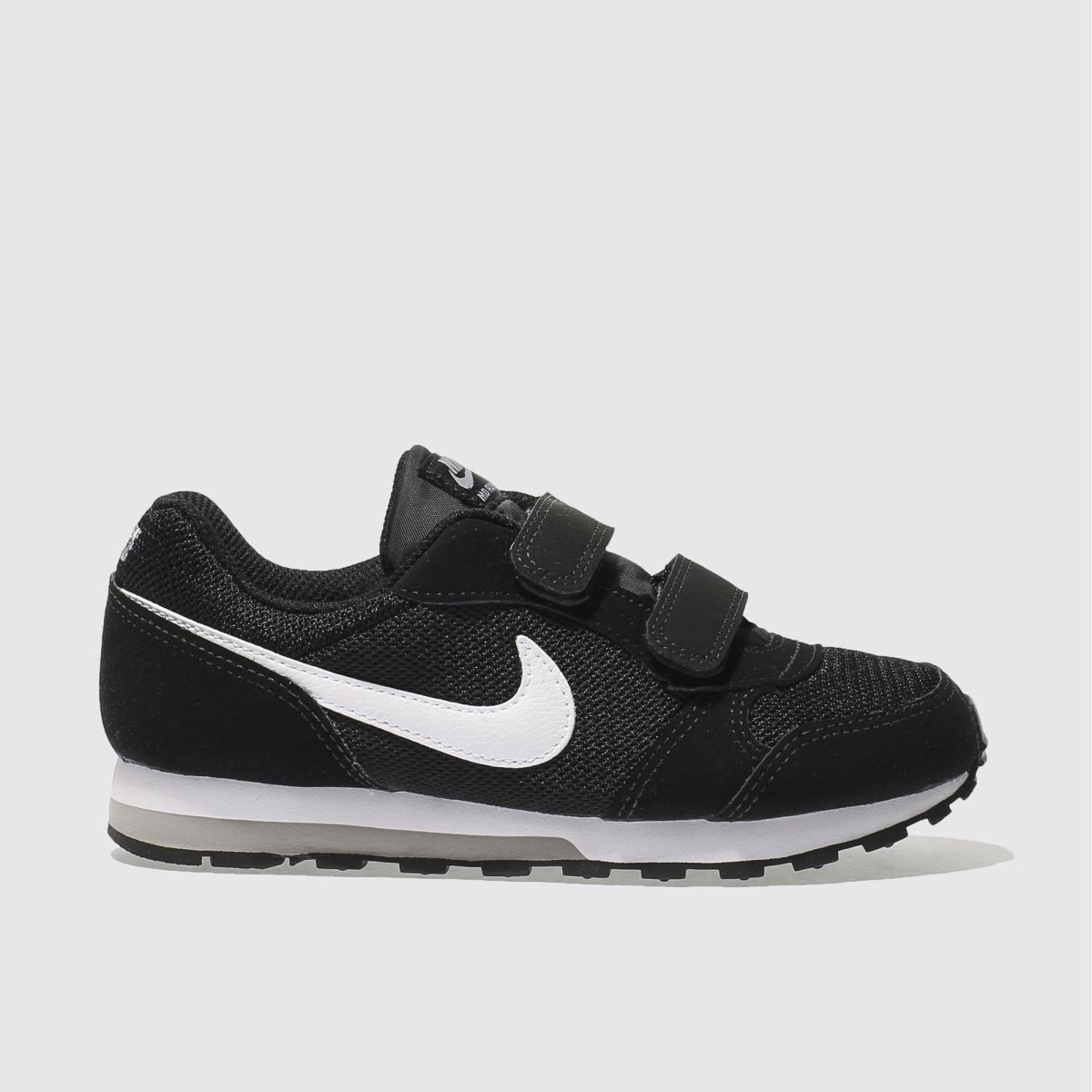 9daa7a40454d ... Nike Black   White Md Runner 2 Boys Junior NIKE Free Run ...