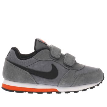 Nike Grey & Black Md Runner 2 Boys Junior