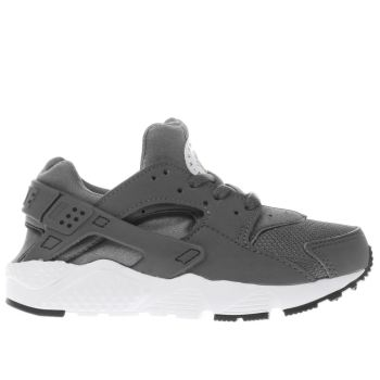 Nike Dark Grey HUARACHE RUN Boys Junior