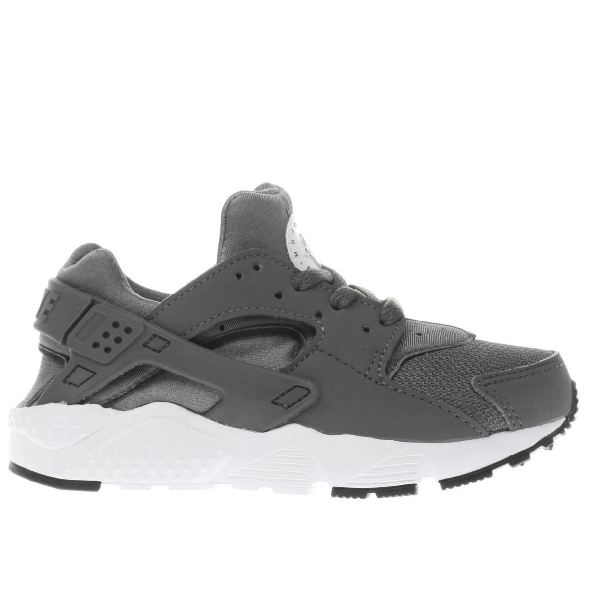nike dark grey huarache run Boys Junior Trainers