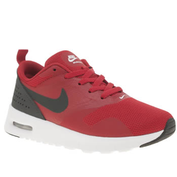 Nike Red Air Max Tavas Boys Junior