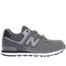 New Balance Grey 574 Boys Junior
