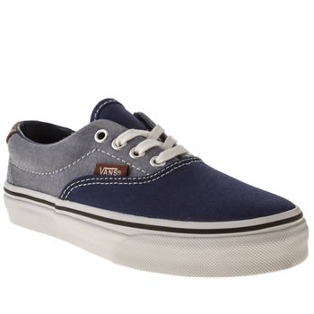 Vans Navy & Pl Blue Era 59 Boys Junior