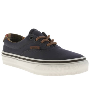 Boys Vans Navy & White Era 59 Boys Junior