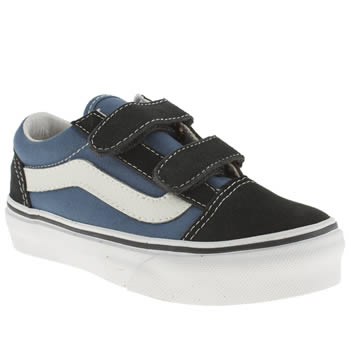 Boys Vans Navy Old Skool V Boys Junior