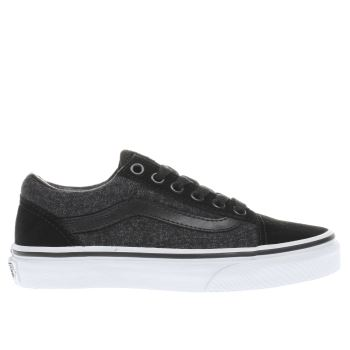 Vans Black Old Skool Boys Junior