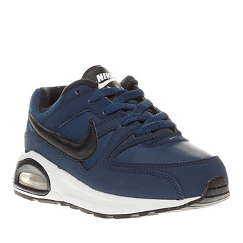 Nike Blue Air Max Command Flex Boys Junior