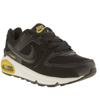 Nike Black & White Air Max Command Boys Junior